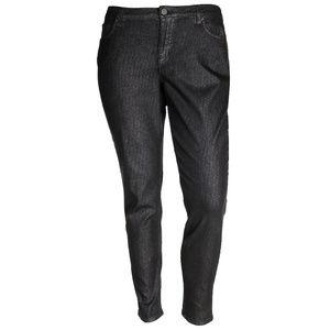 18 Black Shimmer Low-Rise Jeggings Jeans Leggings